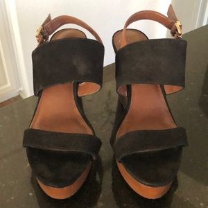 Vince Camuto Ankle strap wedge sandal